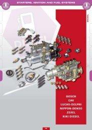 bosch cav lucas-delphi nippon-denso zexel kiki diesel - Lehner ...