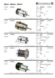Motor - Moteur - Motori