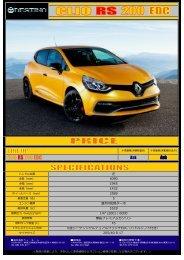 RENAULT CLIO RS 200 EDC MY2013 - Destino