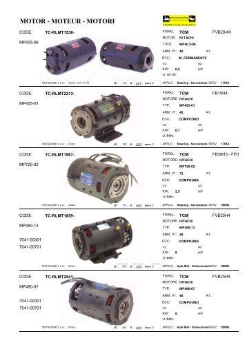MOTOR - MOTEUR - MOTORI - Lehner Industriemaschinen