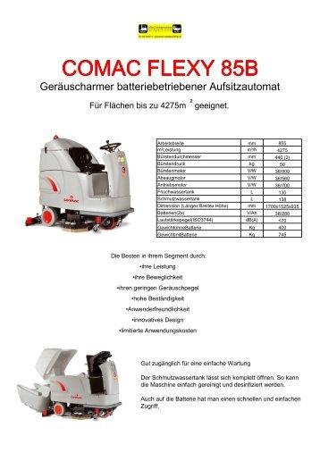 COMAC FLEXY 85B - Lehner Industriemaschinen