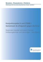 Konjunkturpaket II und STARK I Gemeinsam & erfolgreich gegen die ...