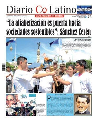 Edición 5 de Septiembre de 2015
