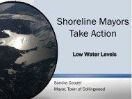 Shoreline Mayors Take Action