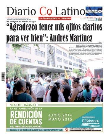 Edición 4 de Septiembre de 2015