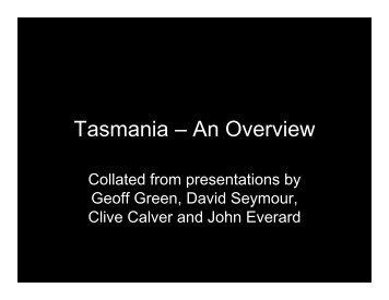 Tasmania – An Overview