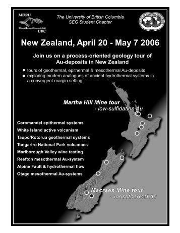 New Zealand April 20 - May 7 2006