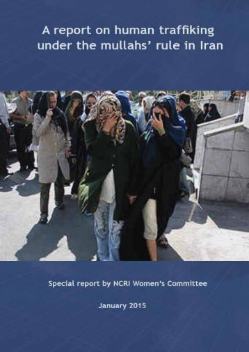 Report on trafficking girls and women under the mullahs' regime in Iran