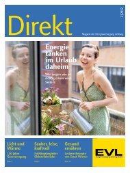 Energie tanken im Urlaub daheim - EVL