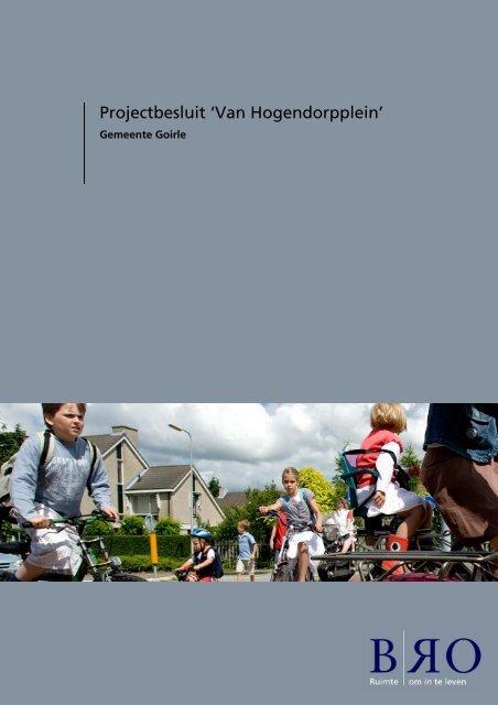 Projectbesluit 'Van Hogendorpplein'