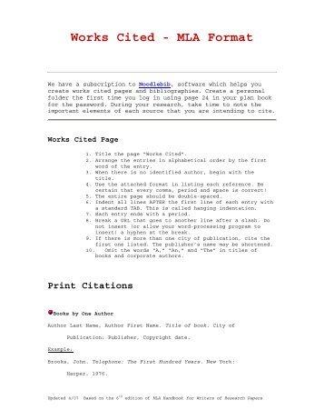 citations mla format helom digitalsite co