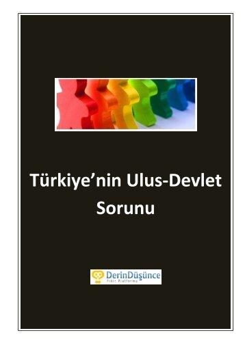 Türkiye'nin Ulus-Devlet Sorunu