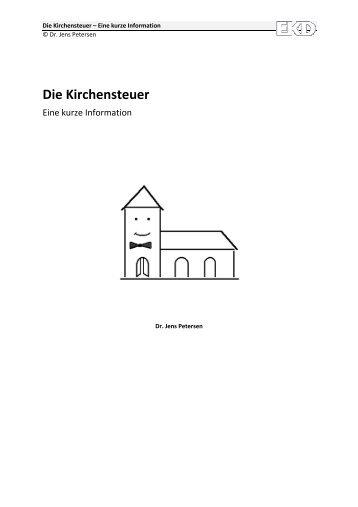Die Kirchensteuer – Eine kurze Information - Evangelische Kirche in ...