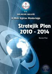 Stratejik Plan - Balıkesir İl Milli Eğitim Müdürlüğü