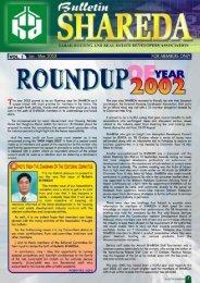 Bulletin Vol. 1 - SHAREDA
