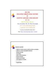 (2 2 3) (2010-2011 Bahar Dönemi) Ders Sorumlusu - Jeoloji Bilgi ...