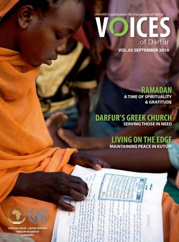 RAMADAN DARFUR'S GREEK CHURCH LIVING ON THE EDGE