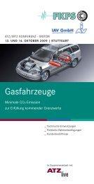 Programmheft Gasfahrzeuge 2009 - FKFS