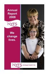 Annual Report 2008 We change lives