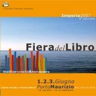 Fiera del Libro Imperia 2007 - Giorgio Temporelli