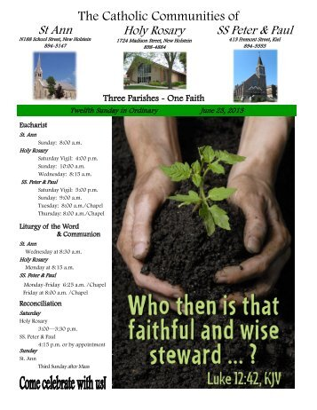 The Catholic Communities of