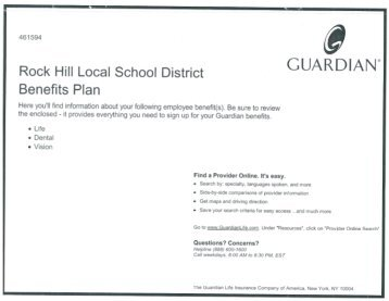 GUARDIAN - Rock Hill Local School District
