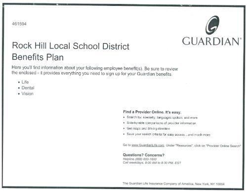GUARDIAN - Rock Hill Local School District