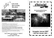 Ausgabe Nr. 32 Auf ein neues Jahr! - TSV Goldbach