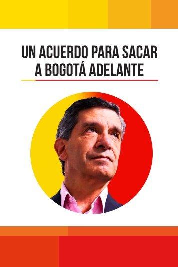 Un acuerdo para sacar a Bogotá adelante