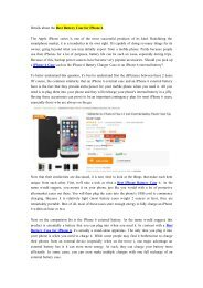Details about the Best Battery Case for iPhone 6-newnow.com.pdf