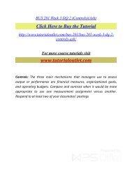BUS 201 Week 3 DQ 2(Ash) /Tutorialoutlet