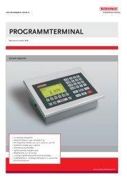 Programmterminal - Soehnle Professional