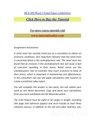 BUS 308 Week 5 Final Paper (Ash)(New).pdf /Tutorialoutlet