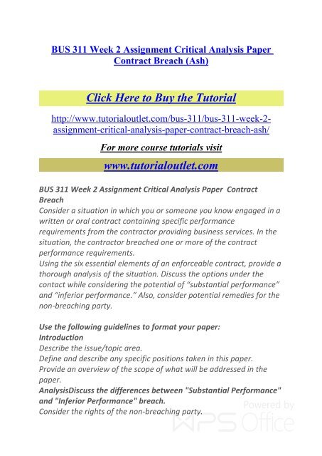 buy a critical analysis paper