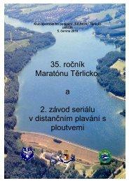 35. ročník Maratónu Těrlicko, a 2. závod seriálu v distančním plavání ...