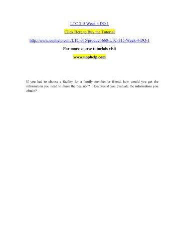 LTC 315 Week 4 DQ 1.pdf
