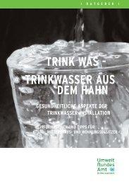 Trinkwasser-Installation 18.10.06 Endfassung.qxd