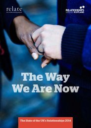 The Way We Are Now