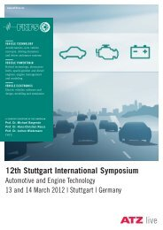 12th Stuttgart International Symposium - FKFS