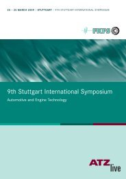 9th Stuttgart International Symposium - FKFS