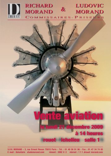 Vente aviation