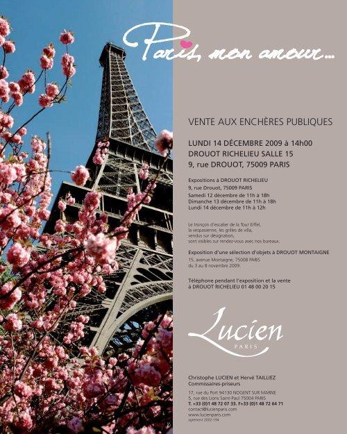 20 11 98285 Lucienint80p Paris Amour Drouot