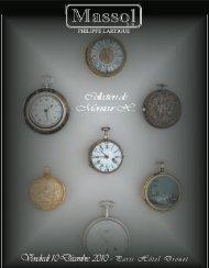 Collection de Monsieur X.. Vendredi 10 Décembre 2010 -