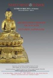 ARCHEOLOGIE CHINOISE ARTS D'ASIE ESTAMPE JAPONAISE