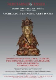 ARCHEOLOGIE CHINOISE ARTS D'ASIE