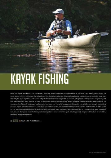 Kayak Fishing - Kayakismo