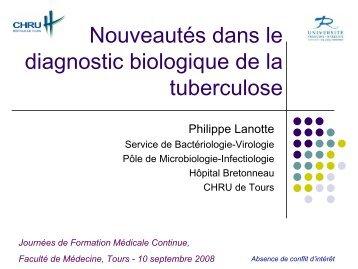 Nombre de cas de tuberculose maladie déclarés par région France 1996-2006