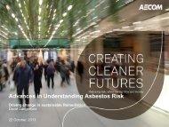 Advances in Understanding Asbestos Risk