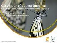Case Study of Vapour Intrusion