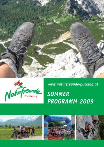 Sommerprogramm 2009 - Naturfreunde Pucking